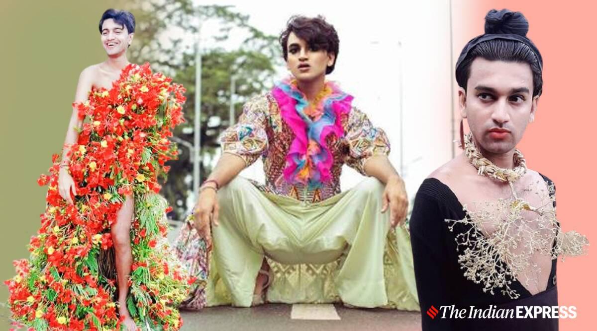 village blogger, sustainable fashion blogger, village fashion blogger, fashion blogger from Tripura, Neel Ranaut, Neel Ranaut fashion, Neel Ranaut interview, Neel Ranaut news, indian express news