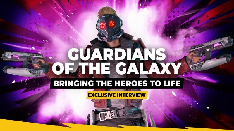 Creando el mundo de Guardianes de la Galaxia de Marvel - Entrevista exclusiva