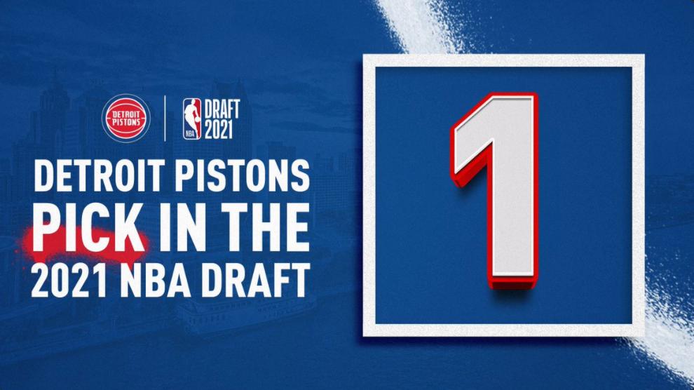 Detroit Pistons será el número 1 en el Draft de la NBA de 2021
