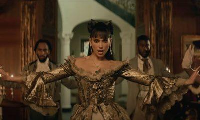 Dua Lipa trae esa energía de 'Je Ne Sais Quoi' en el video 'Demeanor' de Pop Smoke