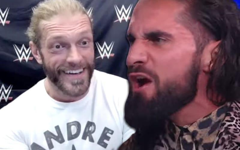 Edge dice que Seth Rollins 'necesita su biberón'