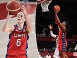 El juego de apertura muestra que el camino hacia el oro olímpico no será una brisa para el equipo de baloncesto femenino de EE. UU.