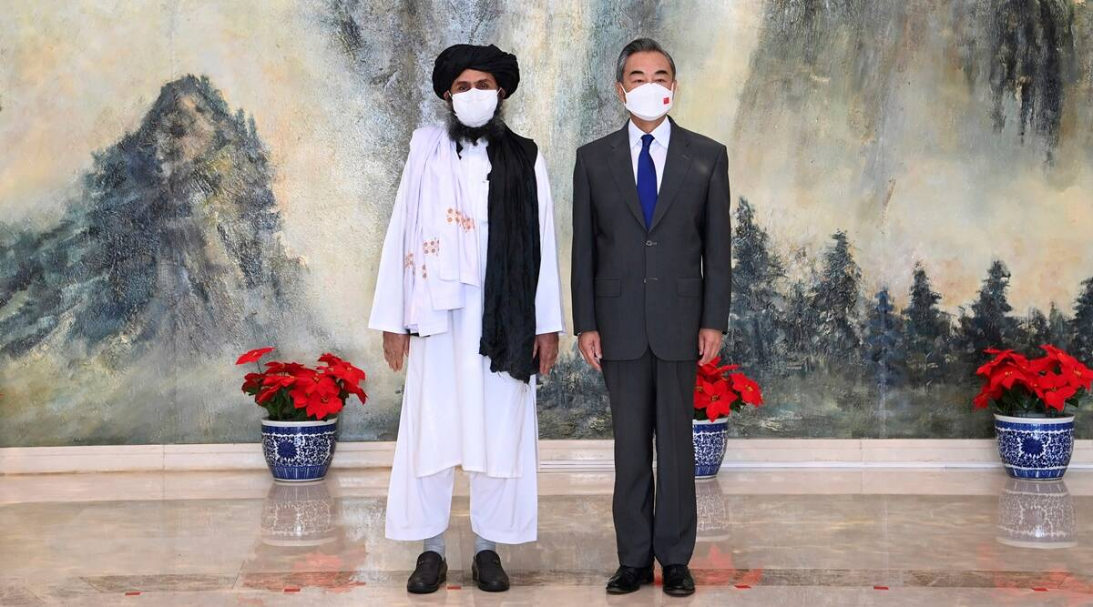 China Taliban, Taliban Afghanista, Taliban Afghanistan news, China and Taliban, indian express news
