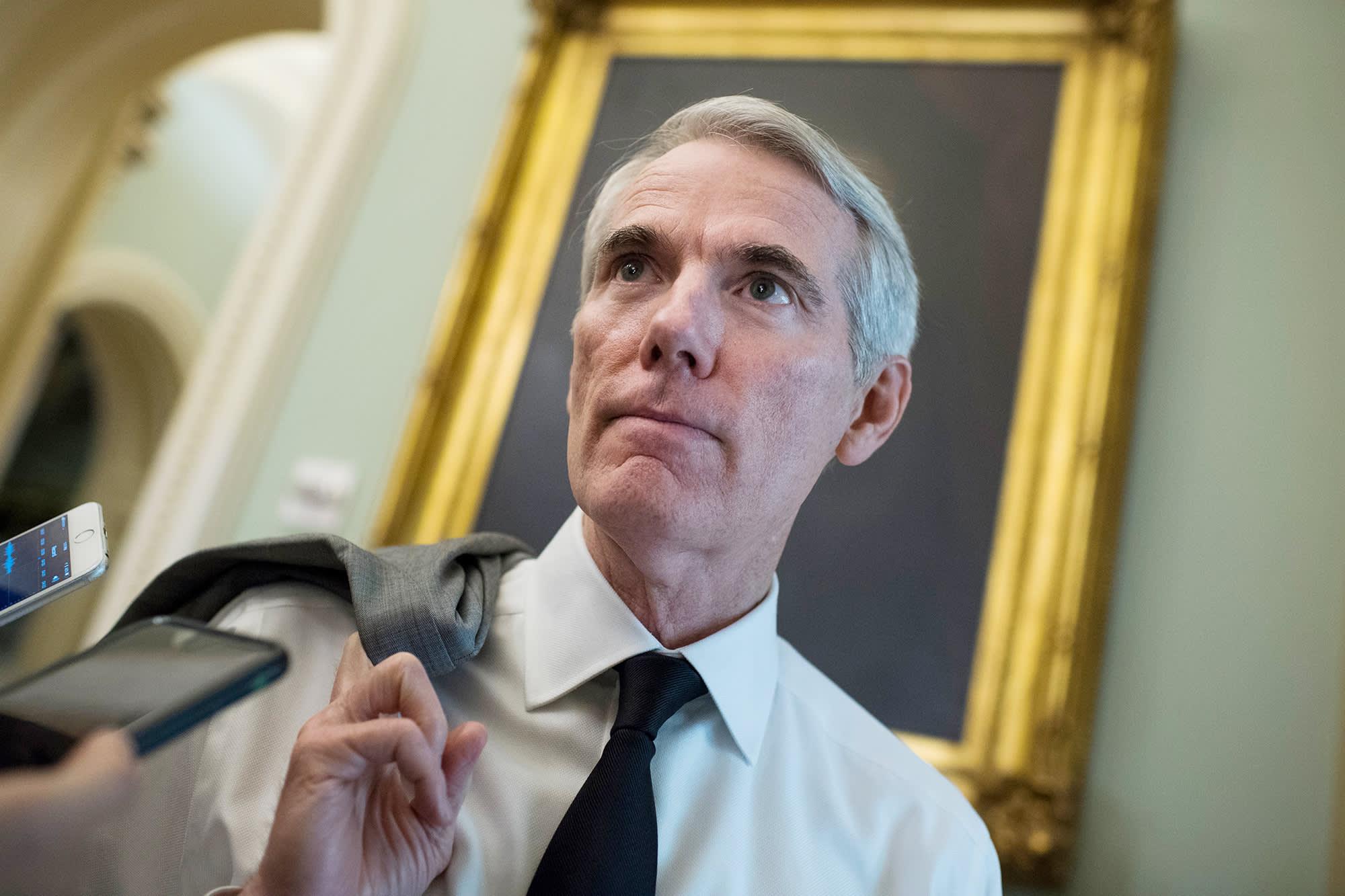 El proyecto de ley de infraestructura 'aún se está negociando', los republicanos bloquean la votación clave del Senado, dice el principal senador republicano