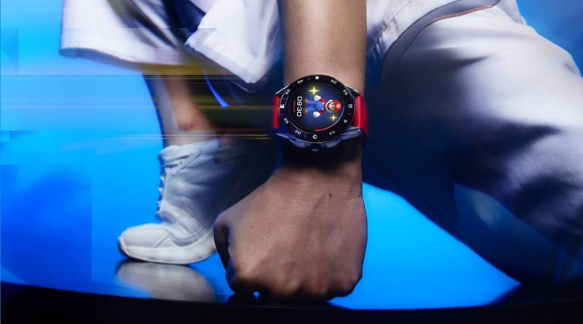Tag Heuer, nintendo, Tag Heuer super mario smartwatch, smartwatch nintendo, Tag Heuer nintendo watch
