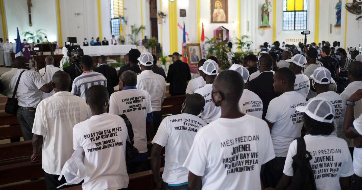 En imágenes: Haití se prepara para enterrar a su presidente asesinado