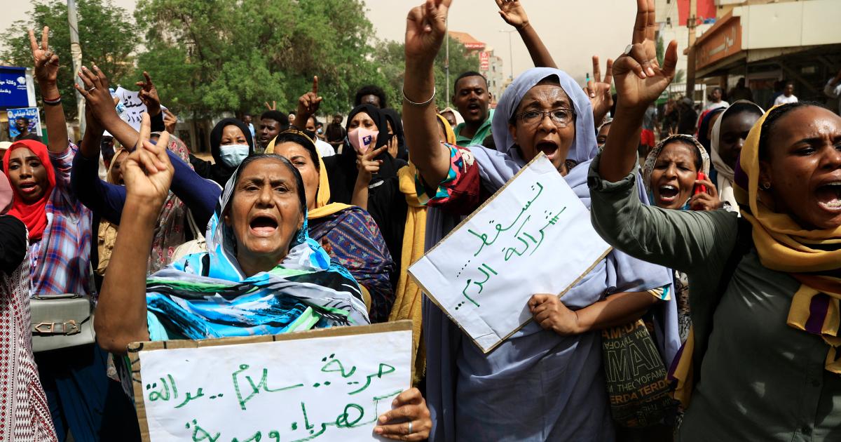 En imágenes: manifestantes sudaneses exigen la renuncia del gobierno
