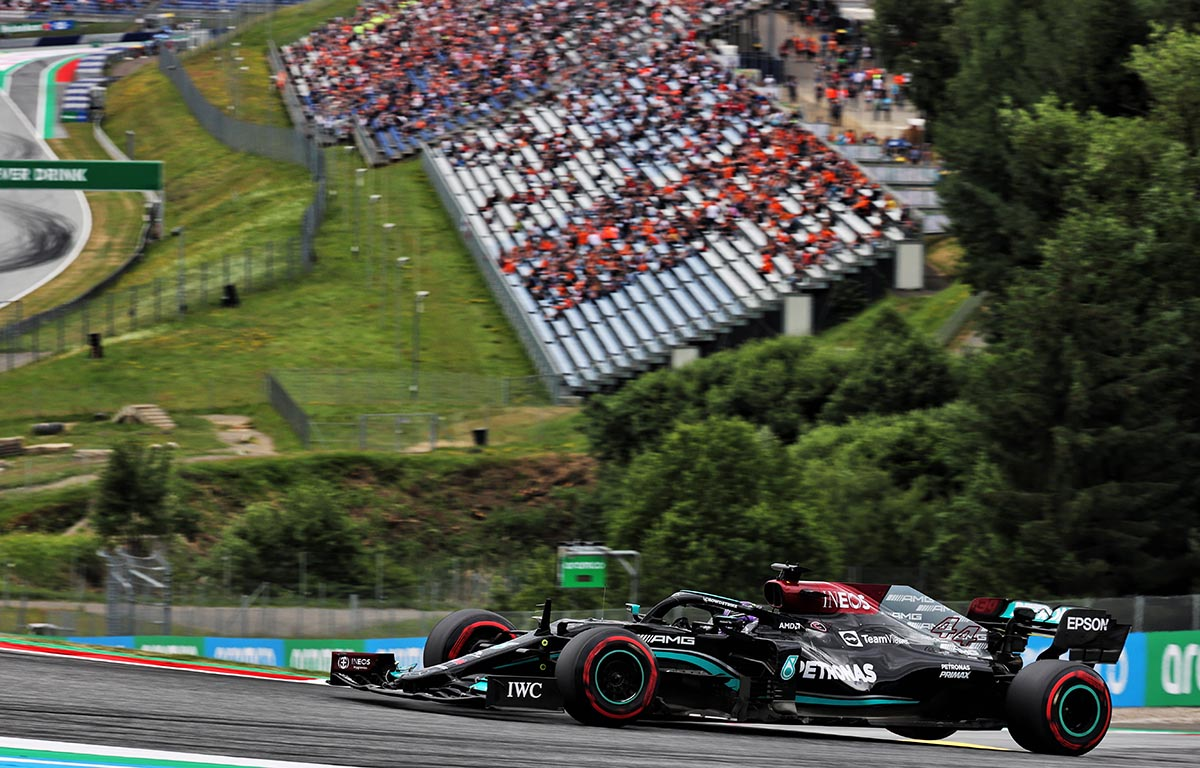 FP2: Mercedes responde con un 1-2 en Red Bull Ring