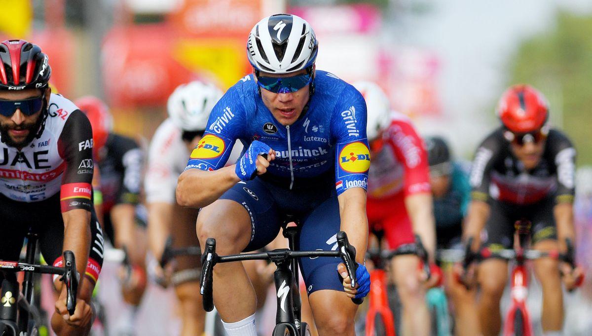 Fabio Jakobsen logra su primera victoria después de un accidente que puso en peligro su vida