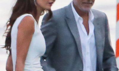Familia: El representante de George y Amal Clooney ha dicho en un comunicado que la pareja no espera su tercer hijo juntos después de que se informó el viernes que el abogado estaba embarazada (la pareja aparece el 20 de julio en el lago de Como, Italia).