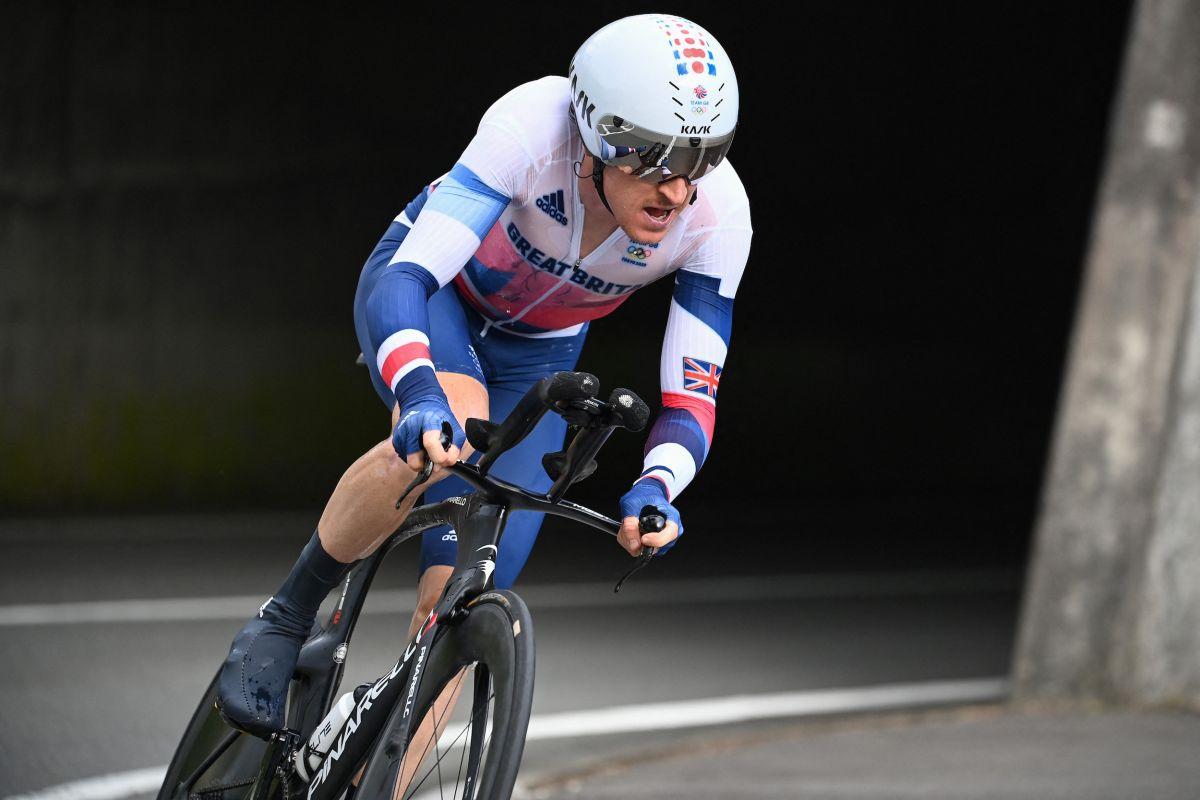 Geraint Thomas dice que 'solo necesita mantenerse positivo e intentar seguir adelante' después de la contrarreloj olímpica