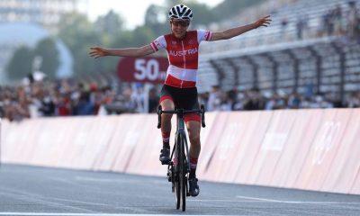 Juegos Olímpicos de Tokio: Anna Kiesenhofer decepciona a las holandesas con una gran victoria en la escapada