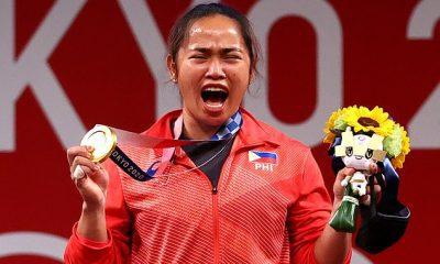 La levantadora de pesas Hidilyn Díaz hizo historia al ganar la primera medalla de oro olímpica de Filipinas