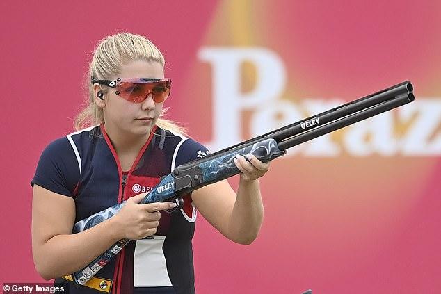 La medalla de oro británica espera que Amber Hill esté fuera de los Juegos Olímpicos después de una prueba positiva de Covid
