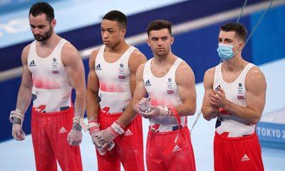 El equipo de gimnasia masculino del equipo GB terminó cuarto en los Juegos Olímpicos de Tokio el lunes