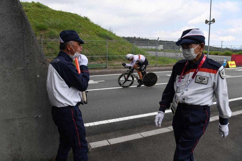 Juegos Olímpicos de Tokio: el técnico alemán condenado por comentarios racistas durante la contrarreloj masculina