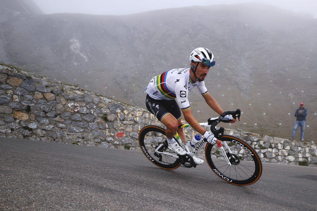 Julian Alaphilippe vuelve a correr en Clásica San Sebastián tras ausencia olímpica