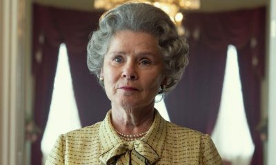 La estrella de la Corona, Imelda Staunton, se transforma en la Reina cuando reemplaza a Olivia Colman