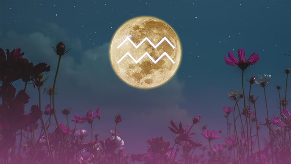 La luna llena en Acuario el 23 de julio afectará más a signos