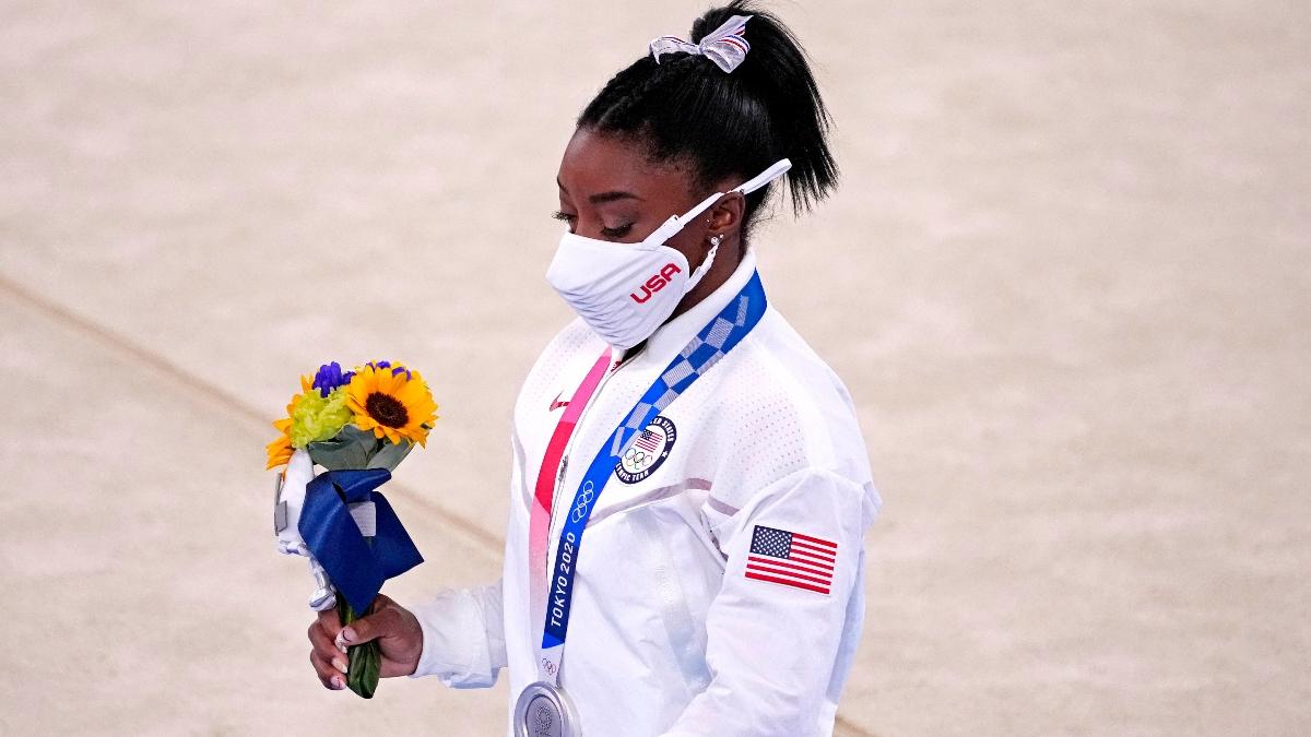 Lo que dijo Simone Biles después de retirarse de la final olímpica de gimnasia