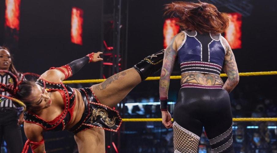 Lo último sobre Mercedes Martínez después de ser noqueada en WWE NXT match