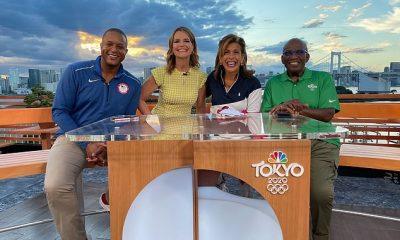 Los presentadores del programa de hoy Savannah Guthrie, Hoda Kotb, Al Roker y Craig Melvin se han limitado en gran medida a su hotel de Tokio mientras cubren los Juegos Olímpicos de 2020.