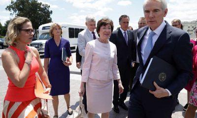 Los senadores esperan seguir adelante con el proyecto de ley de infraestructura bipartidista esta semana