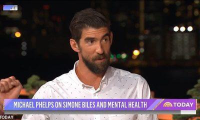 Phelps, quien ha sido abierto sobre sus propias luchas de salud mental en el pasado y contempló el suicidio después de los Juegos de 2012, apareció en el programa Today de NBC para decir que respetaba la decisión de Biles de retirarse.
