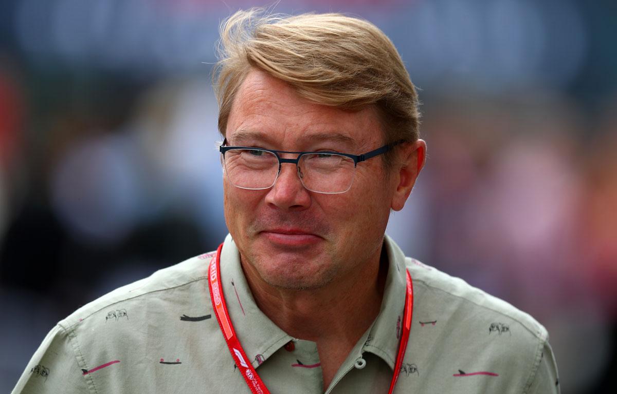 Mika Hakkinen encontró el sprint 'emocionante' y 'valiente'