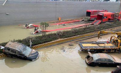 Muertes por inundaciones en China muestran riesgos viales por el cambio climático