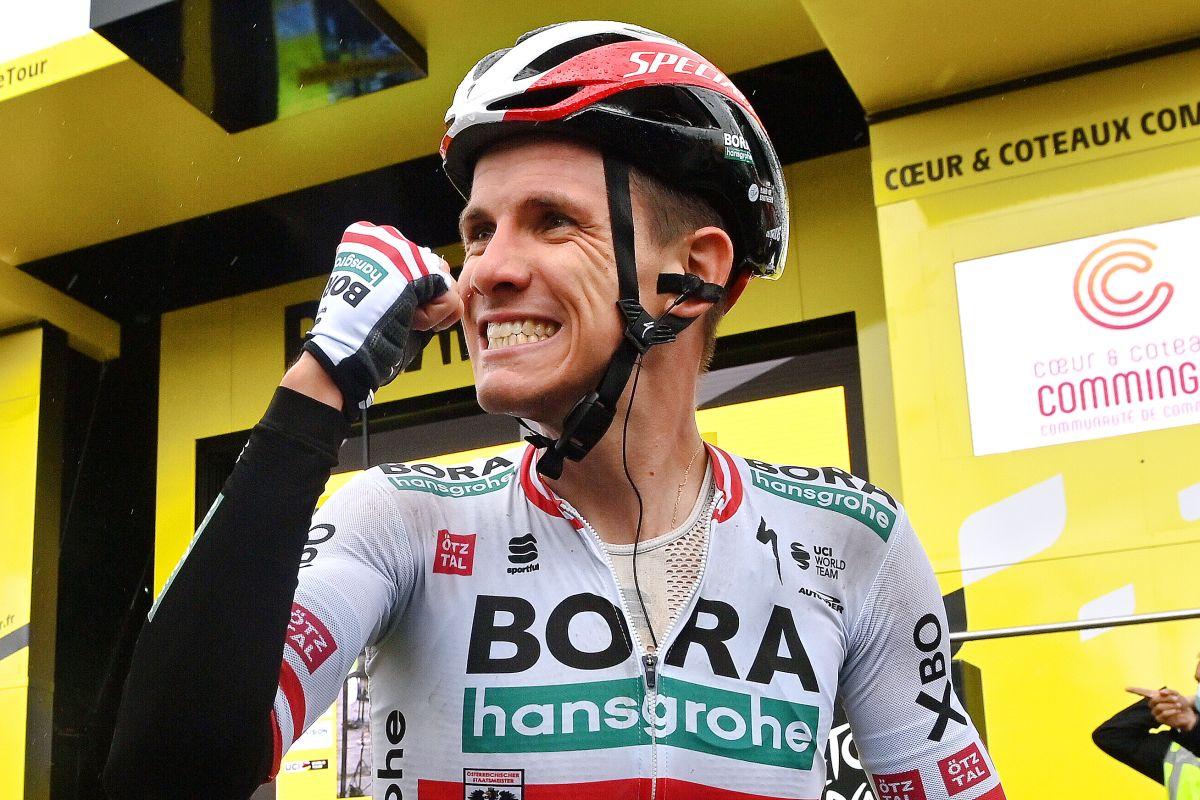 Por tercera vez, el ganador de la etapa 16 del Tour de Francia, Patrick Konrad: 'Me dije a mí mismo que esta vez sería el primero en ir a por la victoria'