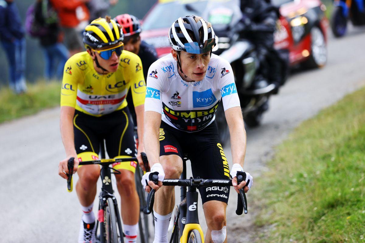 'Puede ser un ganador del Tour de Francia muy pronto': Tadej Pogačar lidera el elogio de Jonas Vingegaard