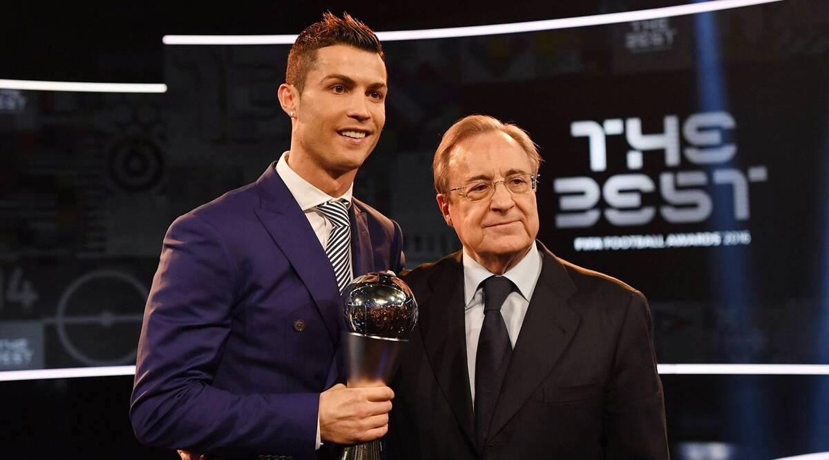 Ronaldo, Mourinho son 'idiotas', dice el presidente del Real Madrid Florentino Pérez