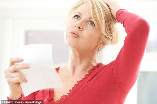Las mujeres que cambian a una dieta vegana rica en soja durante la menopausia podrían reducir la cantidad de sofocos que experimentan (como se muestra en la imagen) hasta en un 84% sin medicamentos (imagen de stock)