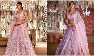 Sara Ali Khan se convierte en musa de Manish Malhotra y los resultados son impresionantes