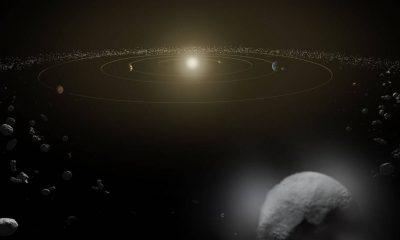 Se encontraron dos objetos rojos en el cinturón de asteroides.  No deberían estar ahí
