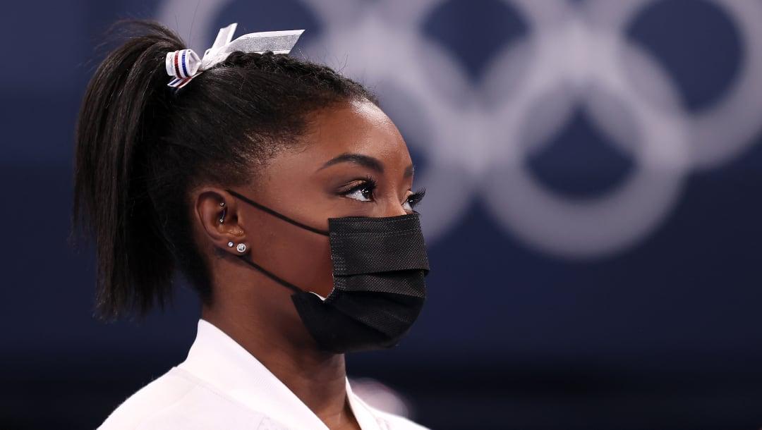 Simone Biles se retira de la final completa femenina