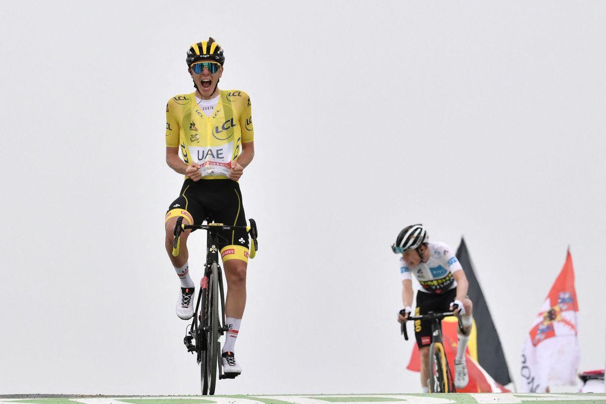 Tadej Pogačar se acerca a la victoria del Tour de Francia 2021 con la victoria de la etapa 17