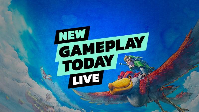 The Legend Of Zelda: Skyward Sword HD - Nueva jugabilidad hoy en vivo