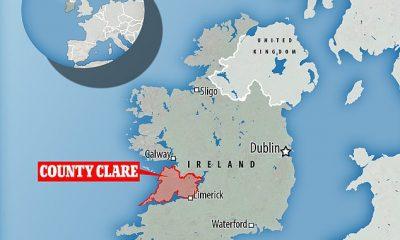 Los investigadores no revelaron el lugar exacto donde se filmó, solo que fue visto fuera del condado de Clare.