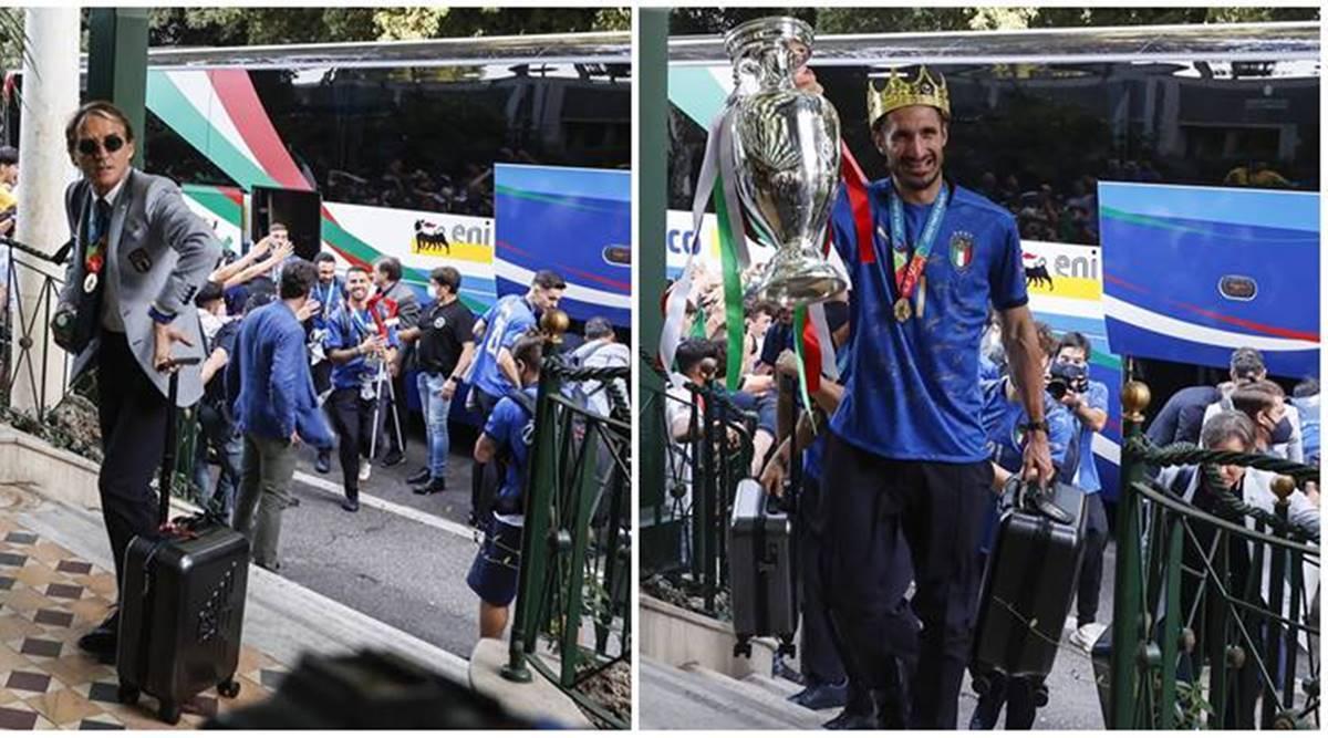 Vídeo: Italia entra en erupción cuando los campeones de la Eurocopa 2020 regresan a Roma