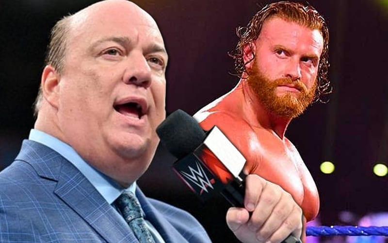 WWE rechazó el lanzamiento de Murphy para unirse al establo de Paul Heyman
