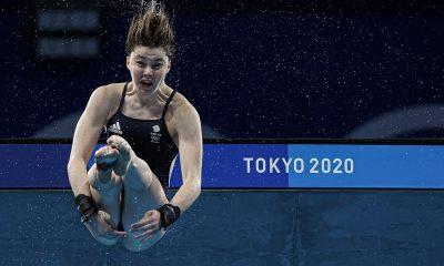 Andrea Spendolini-Sirieix, hija de Fred, la estrella de First Dates, llega a la final de plataforma de 10 metros en los Juegos Olímpicos