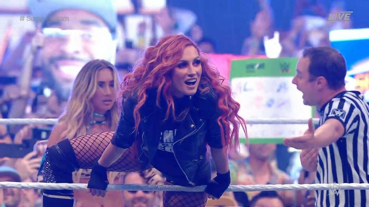 Becky Lynch regresa en WWE Summerslam 2021