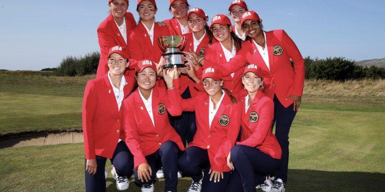 EE.UU. asalta los singles para hacerse con la victoria en la Curtis Cup - Noticias de Golf    Revista de golf