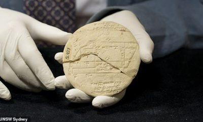 El ejemplo más antiguo de geometría aplicada se ha descubierto en una tablilla de arcilla de 3.700 años que presenta las matemáticas generalmente atribuidas a Pitágoras.