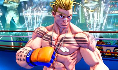 El último nuevo personaje de Street Fighter V, Luke, revelado con Akira y Oro llegando a finales de este mes