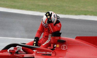 Ferrari teme la penalización tras descartar el motor de Charles Leclerc