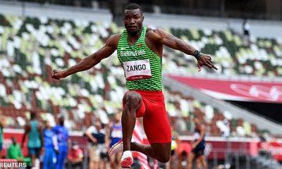 Hugues Fabrice Zango de Burkina Faso reclamó la primera medalla olímpica de su país