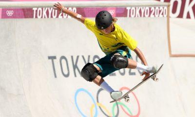 Keegan Palmer gana el oro para Australia en skate park masculino